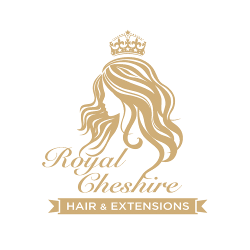 3506 Royal Cheshire Hair & Extensions - logo just gold