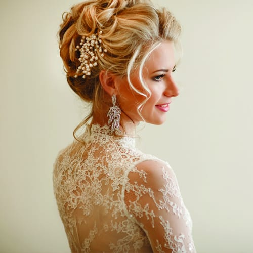 Bridal hair is also something that I'm passionate about. It is a privilege to be part of someone's very special day and gives me immense pleasure helping the bride prepare for one of the biggest days of her life.